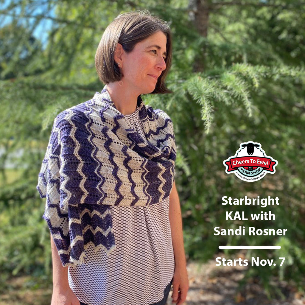 Starbright KAL with Sandi Rosner