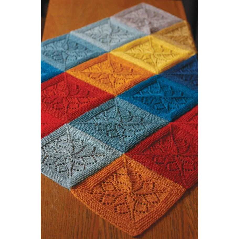 Vivid Blanket Knitting Pattern-Cheers To Ewe!