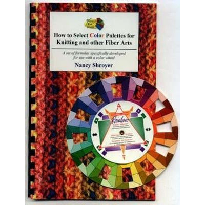 How to Select Color Palettes - Book and Color Wheel-Cheers To Ewe!