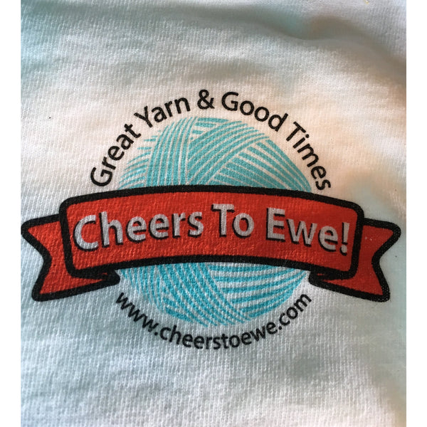 T-Shirt CHEERS TO EWE! - White-Cheers To Ewe!
