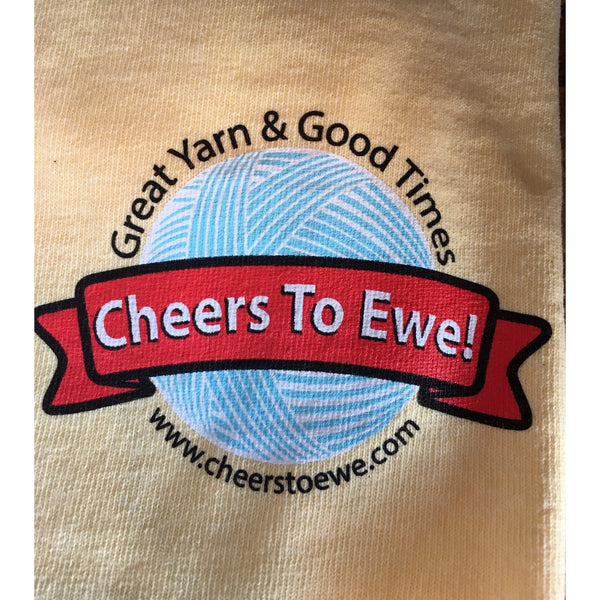 T-Shirt CHEERS TO EWE! - Yellow-Cheers To Ewe!
