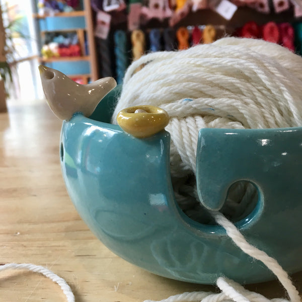 Sweet Bird Knitting Bowl