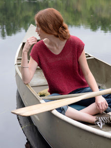 Fragaria Tee Knitting Pattern-Berroco-Cheers To Ewe!