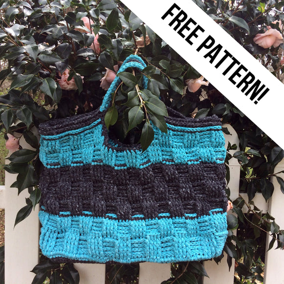 Katia Washi Beach Tote Knitting Pattern-Katia-Cheers To Ewe!
