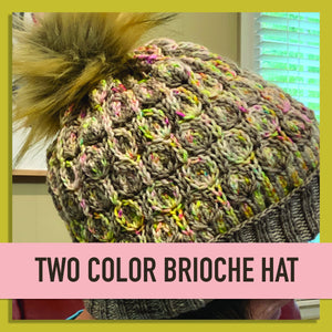 Two Color Absalon Brioche Hat-Cheers To Ewe!-Cheers To Ewe!