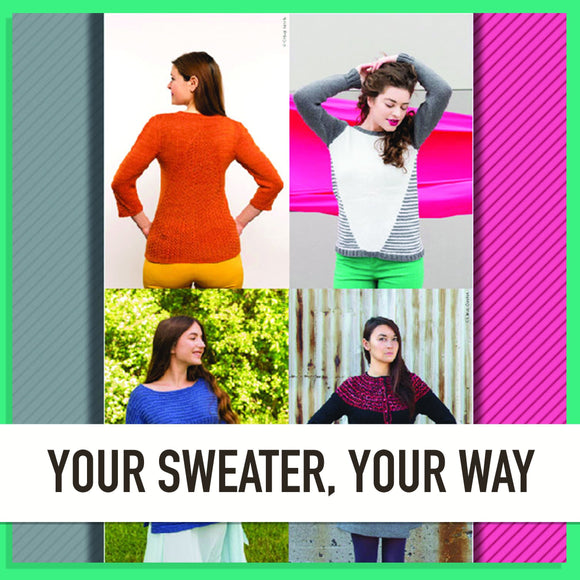 Your Sweater Your Way-Cheers To Ewe!-Cheers To Ewe!