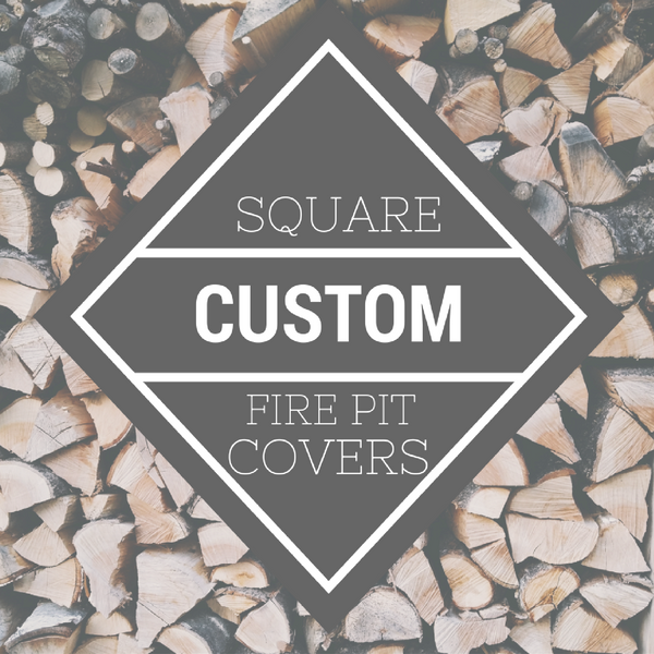 Custom Square Fire Pittopper Fire Pit Cover
