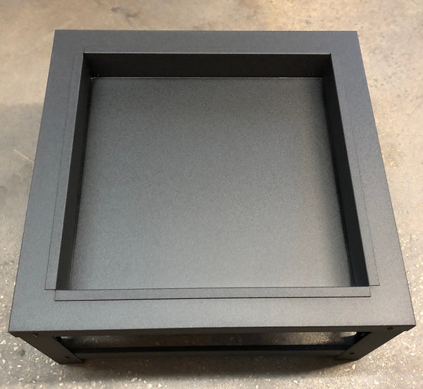 Portable Pittoper Fire Pit Black Topview