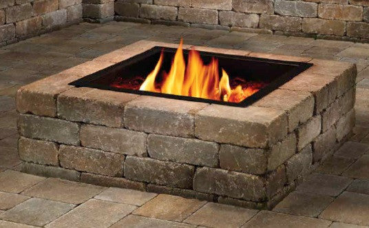 "Custom Square PiTTopper® Fire Pit Cover | 52"" - 60""H"
