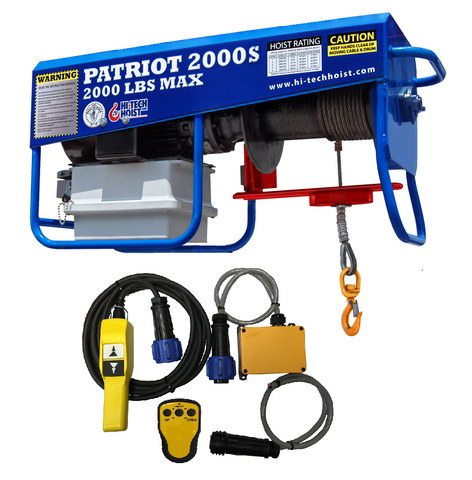 Patriot 2000-S WIRELESS Portable Hoist (1PH)
