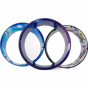Yoga Ring Wheel Circle. Wear-resistant and Non-Slip Loading Weight 1000LB