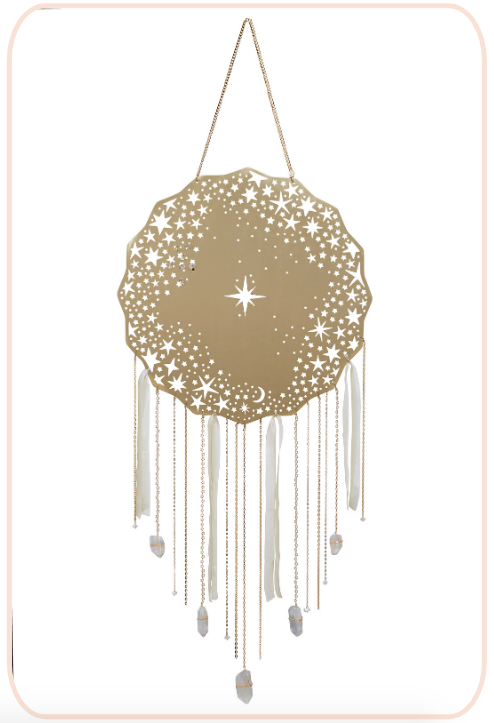 A dreamcatcher that shines like the stars...