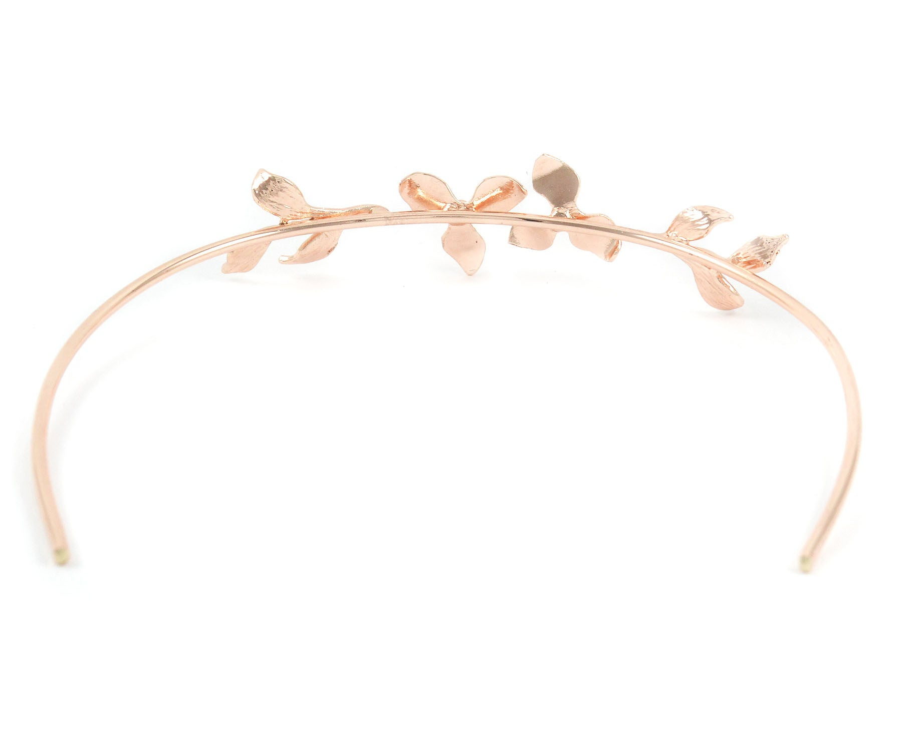 Floral Halo, Metal Floral Halo, Handcrafted Halo, Handmade Halo, Lasercut Halo, Rosegold Halo