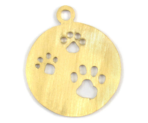 Walking Paws Pet Tag Charm - Small
