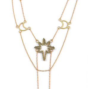 The North Star Celestial Necklace