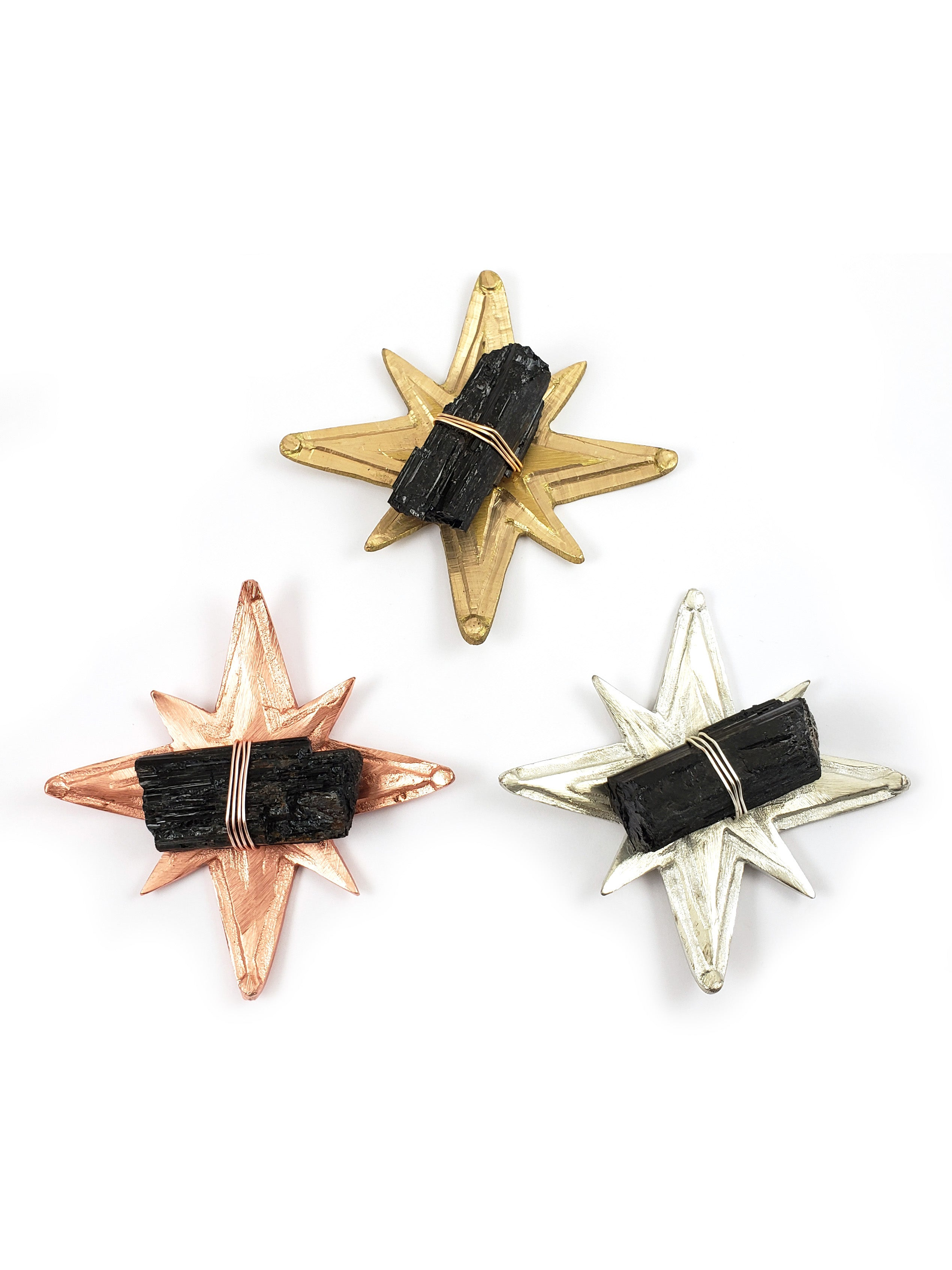 Black Tourmaline Star Dish