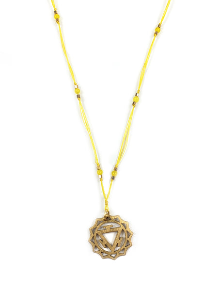 Delicate Chakra Thread Necklace