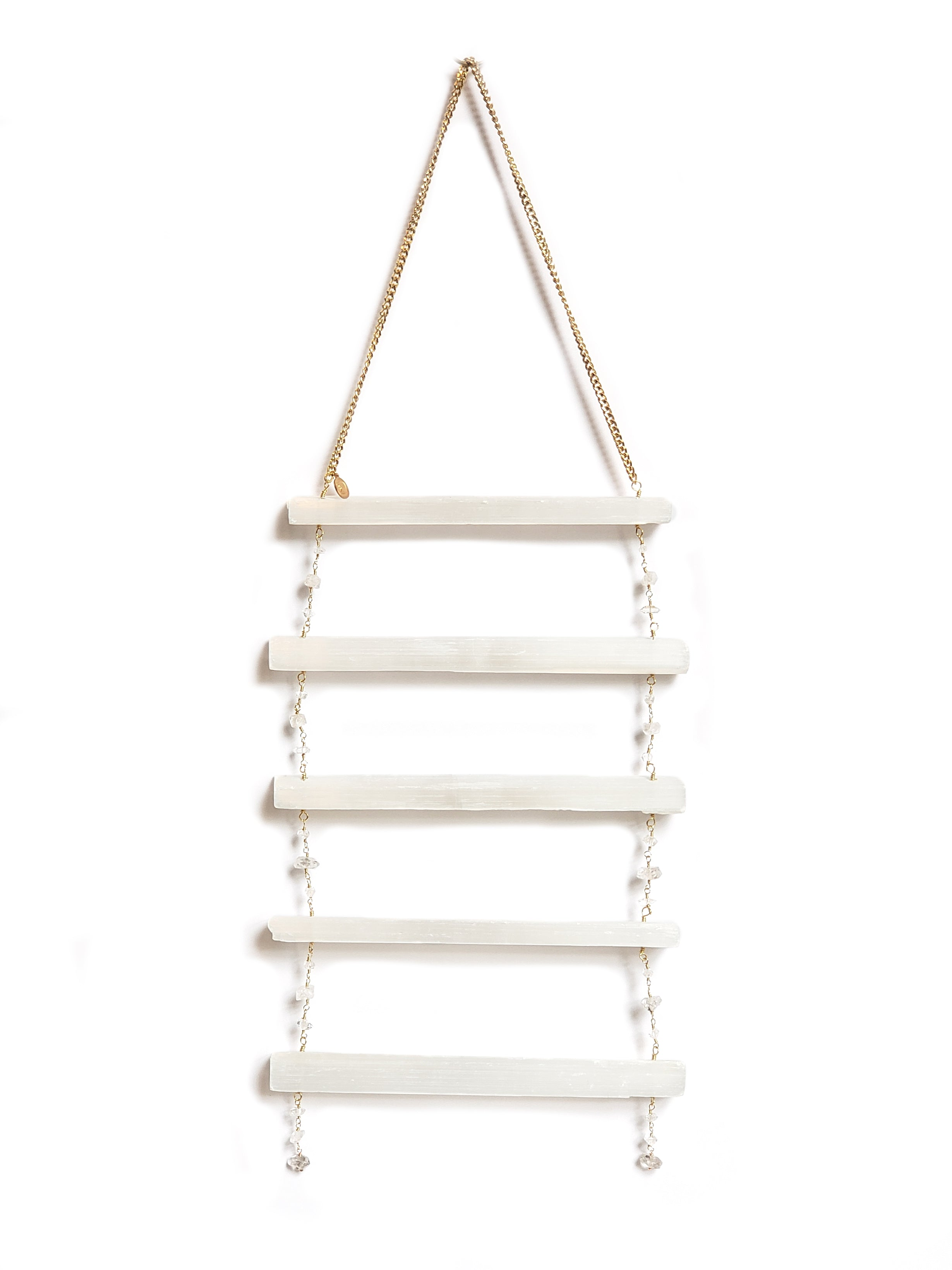 Selenite Ladder Wall Hanging