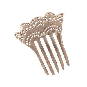 Decorative Mini Metal Hair Comb