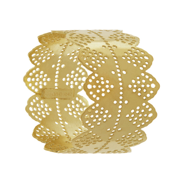 gold napkin rings
