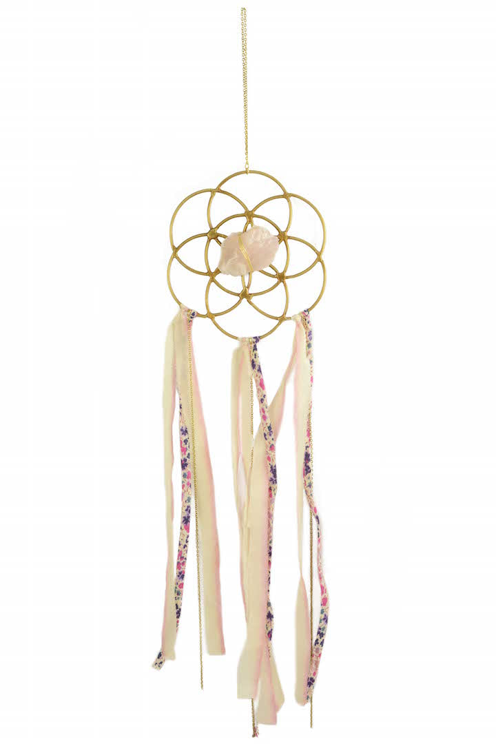 Dreamcatcher Crystal Grid Ornament