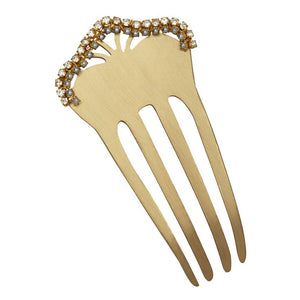 Embellished Mini Hair Comb