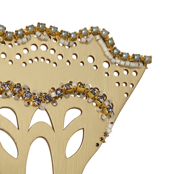 Embellished Statement Hair Comb
