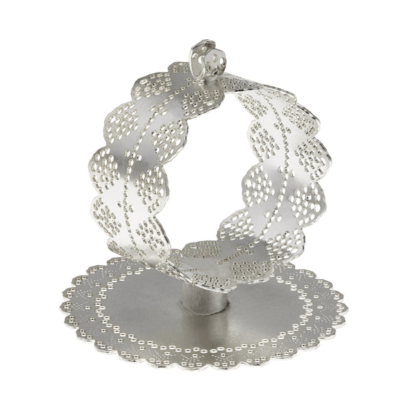Eyelet Place Card Napkin Holder