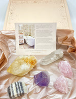Mega Healing Crystal Bath Immersion Kit