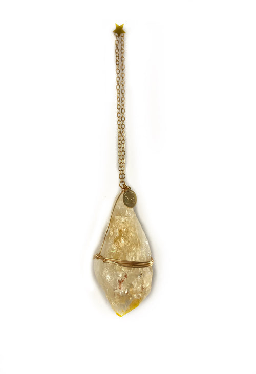citrine ornament