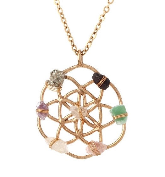 crystal grid jewelry