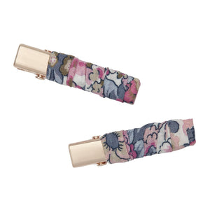 Liberty Print Wrapped Hair Clip