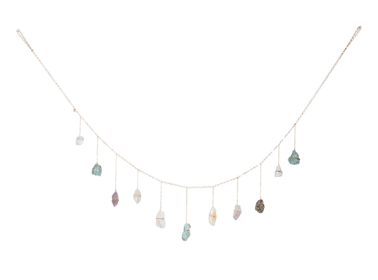 crystal garland