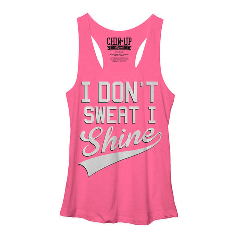 Shiny Girl - Racerback Tank