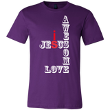 Jesus Love Mens Tee Shirt