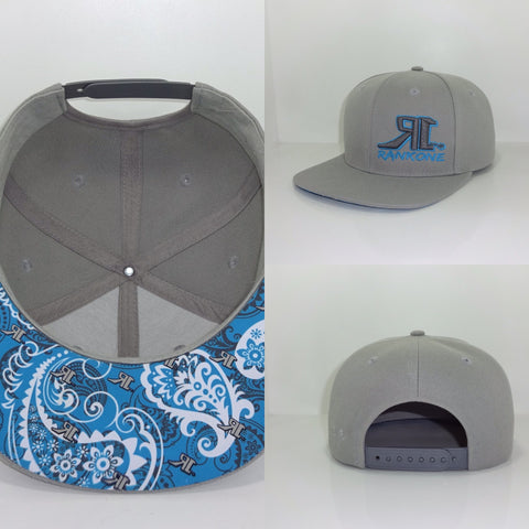 H1-0010 Paisley with R1's Flat Bill Cap