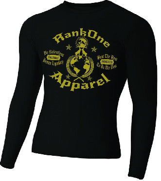 Goat Shirt Black Rash Guard