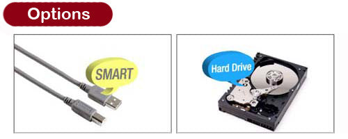 Hard Drive and USB Options