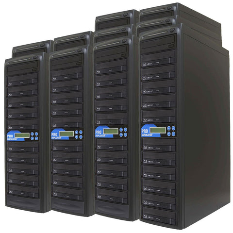 Produplicator 1 to 100 Blu-ray BDXL SATA Daisy Chain Duplicator + HDD - (100BD)