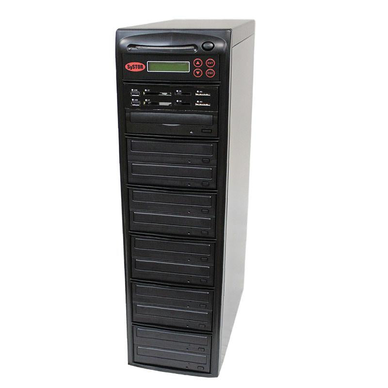 Systor 1:10 MultiMedia Center Plus - USB/SD/CF & CD DVD Duplicator (PMBC-P-10)