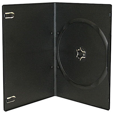 7mm Slim Single Disc Capacity Black DVD Cases - ProDuplicator.com