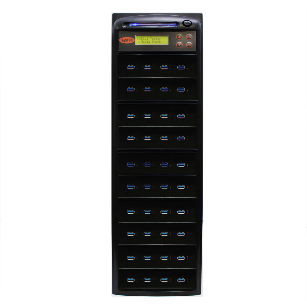 Systor 1:39 USB 3.1 300MB/s Flash Drive Duplicator - (SYS-USB30-39) - Up to 18GB per minute