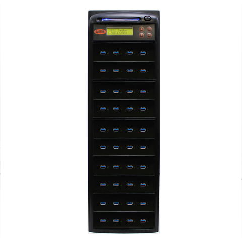 Systor 1:39 300MB/s USB 3.0/3.1 Duplicator - Multiple Flash Drive Copier, Up To 18GB Per Minute (SYS-USB30-39)