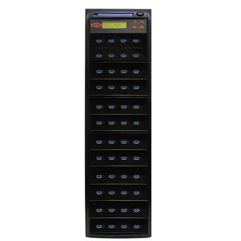 Systor 1:47 300MB/s USB 3.0/3.1 Duplicator - Multiple Flash Drive Copier, Up To 18GB Per Minute (SYS-USB30-47)
