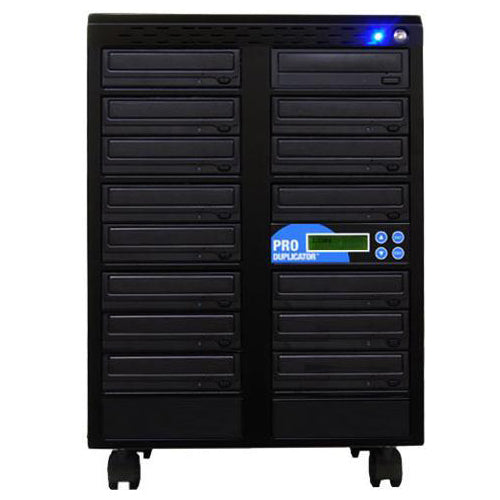 Produplicator 1 to 14 CD DVD Duplicator with M-Disc Support - ESDVDS24X14