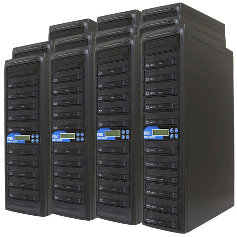 Produplicator 1 to 150 Blu-ray BDXL SATA Daisy Chain Duplicator + HDD - (150BD)