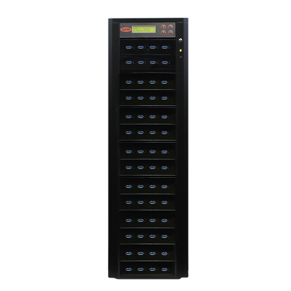 Systor 1:55 USB 3.1 300MB/s Flash Drive Duplicator - (SYS-USB30-55) - Up to 18GB per minute