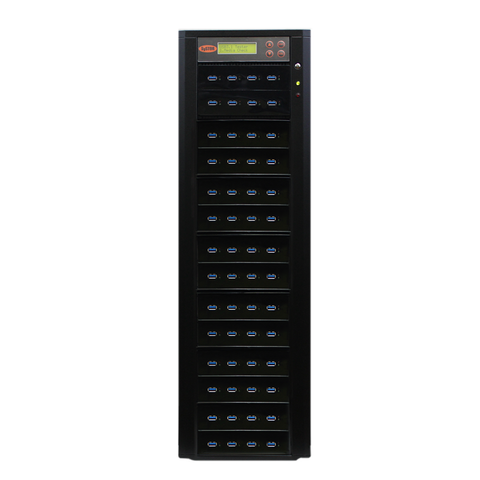 Systor 1:55 300MB/s USB 3.0/3.1 Duplicator - Multiple Flash Drive Copier, Up To 18GB Per Minute (SYS-USB30-55)