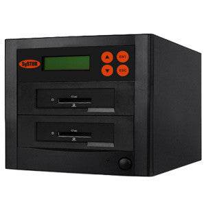 SySTOR 1:1 Multiple CFast (Compact Fast) Memory Card Duplicator / Drive Copier 90MB/sec - (SYS-CFast-1)