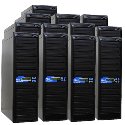 Produplicator 1 to 200 CD DVD SATA Daisy Chain Duplicator + HDD - (200DVD)
